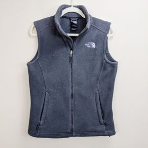 The North Face Womens Fleece Vest Small Full Zip